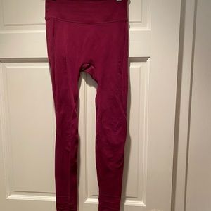 Free People Pants & Jumpsuits - Free people movement Fp sculpt leggings berry s